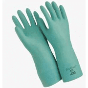 """Ansell Healthcare Sol-Vex Nitrile Gloves, Ansell 117276 33 Cm (13"""") Length, 15 Mil Thickness, Flock-Lined"""