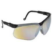 Uvex Genesis Protective Eyewear, S3243 Vapor Blue Frame