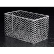 Black Machine Test Tube Baskets, Stainless Steel, Black Machine SS305/B Rectangular