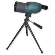 Carson BackCountry 15-40x 50mm Dual Angle Extendable Spotting Scope SS-550