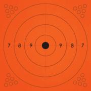 Champion Traps and Targets Adhesive Practice Target Bullseye