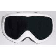 D&G Ski Goggles Wool White Frame / Gray Silver Mirror Lens DD8023B