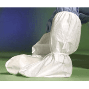 DuPont Tyvek Boot Covers IC446SWHMD0C Clean Processed With Ankle Ties