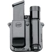 Fobus Flashlight / Single-Mag Belt Pouch - Surefire 3P/6P/9P & Fits Glock/ H&K 9/40 Mags SF6900BH