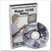 Gun Video DVD - AGI: Ruger 10/22 Rifles X0072D