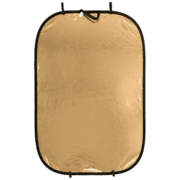 Lastolite 6'x4' Panelite Collapsible Reflector - Gold/white LL LR7241