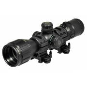 Leapers UTG 3-9x32 Compact CQB Bug Buster Rifle Scope w/ Rings & Sunshade
