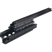 Leapers UTG PRO Saiga 12 Gauge Quad Rail Scope Mount System MTU002