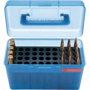 MTM H50 Ammunition Box .17 Remington to .223 Remington Blue H50-RS-24