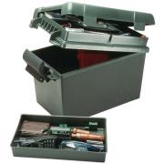 MTM Sportsmen's Plus Utility Dry Box - 15.5x8.5x13, Forest Green SPUD2-11