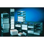 Nalge Nunc Cryobox Rack Horz 3-SHELF 5038-4322 Cryobox Rack Horz 3-SHELF