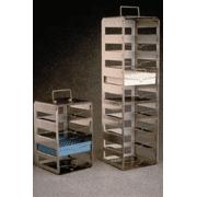 Nalge Nunc CryoBox Racks, Stainless Steel, NALGENE DS5035-0004