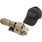 EOTech OPMOD EXPS2 Tan MPO III Holographic Sight, G23 Magnifier 65 MOA ring and 1MOA dot Reticle