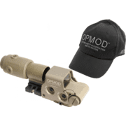 Eotech OPMOD EXPS3 MPOII Tan Holographic Sight & G23 Magnifier, Tan 65 MOA ring 1 MOA Dot Reticle