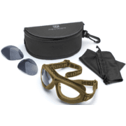 Revision Eyewear Bullet Ant Ballistic Goggles - Essential kit with Clear and Solar Lenses