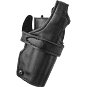 Safariland 070 Duty Holster, SSIII Mid-Ride, Level III Retention - Nylon-Look, Right Hand 070-74-261