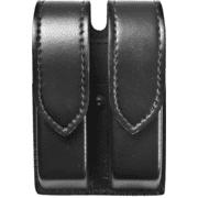 Safariland 277 Quad Magazine Holder - Plain Black, Ambidextrous 277-53-2HS