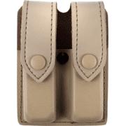 Safariland Model 77 FDE Brown Double Handgun Magazine Pouch