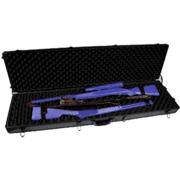 Sportlock AluminumLock Double Rifle Case w/wheels - holds 2 rifles