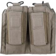 Tactical Assault Gear MOLLE Shingle Pistol Enhanced 2 Mag Pouch
