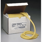 """VWR Amber Latex Rubber Tubing 1012 50"""" Coil Length"""