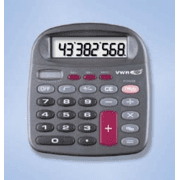 VWR Solar-Powered Desktop Calculators 6031 8-Digit Display