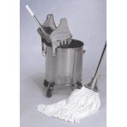 VWR Tubular Knit Mop Heads 33502-730 Tubular Knit Mop Head, Sterile