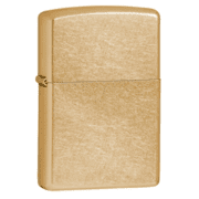 Zippo Gold Dust Classic Style Lighter, Street Gold