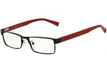701f52058a7 Armani Exchange AX1009 Progressive Prescription Eyeglasses 6036-53 -  Black samba Frame