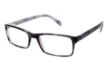 e45b0cef1bf Balmain 3023 Progressive Prescription Eyeglasses - Frame GREY HORN GREY