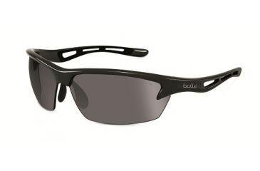 f855521d06cf Bolle Bolt Sunglasses, Shiny Black Frame, Photochromic, Polarized TNS Oleo  AF Lens,