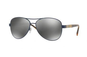 1775e7d6e2 Burberry BE3080 Single Vision Prescription Sunglasses BE3080-12346G-59 -  Lens Diameter 59 mm