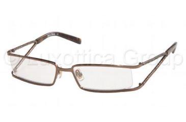 595947b8fa0 Miu Miu MU57EV Eyeglasses Styles Dark Brown Frame w Non-Rx 52 mm Diameter