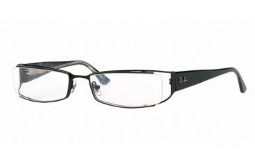 8a7404d6345d Ray-Ban RX6124 Bifocal Eyeglasses - Shiny Black Demo Lens Frame / 54 mm  Prescription