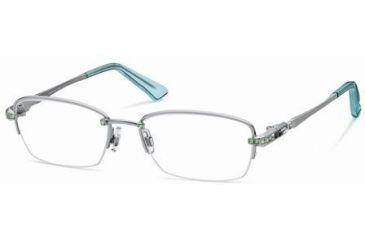 13a59076fb8 Swarovski SK5001 Eyeglass Frames - Shiny Black Frame Color