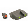 AmeriGlo Glock Front Tritium Night Sights, Orange Pro Glo Circle