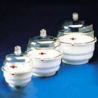 Bel-Art Space Saver Vacuum Desiccators, SCIENCEWARE 420250000 Polypropylene Bottom