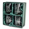 Beretta Set of 4 6.75oz Engraved Whiskey Glasses