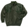 Beretta Wind Barrier Short Zip Sweater w/ Fleece Lining