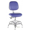Bio Fit Cleanroom/ESD Chairs, 4V Series, BioFit 4V57-C1-CRC Class 1 Cleanroom Chairs