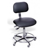 Bio Fit Ergonomic Chairs with Chrome-Plated Finish, BioFit 4Q70CGR-89 Desk Height