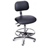 Bio Fit Ergonomic Chrome Frame Lab Chairs, BioFit 4Q43-ATF-C-R Standard Ergo Lab Chair