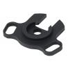 BlackHawk BHP Shotgun Single-Point Sling Ambidextrous Adapter Mossberg 500/590/88 Black 71SA04BK