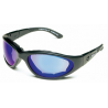 Body Specs BSG Demi Frame Goggles/Sunglasses with Copper Mirror Lens/Yellow & Clear extra lens