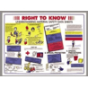 Brady Prinzing Training Posters, Brady PS139E Right To Know