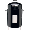 Brinkmann Outdoors Smoke n Grill Charcoal Smoker and Grill, Black