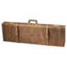 Browning Leather Distressed Fitted Gun Shotgun Case