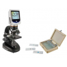 Celestron LCD Deluxe Digital Microscope with Rotatable Screen, 44345-EE