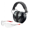 Champion Traps and Targets Eyes & Ears Combination Shooting Glasses and Ear Muffs