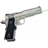 Crimson Trace Front Activation Green Lasergrip for 1911 Government/Commander